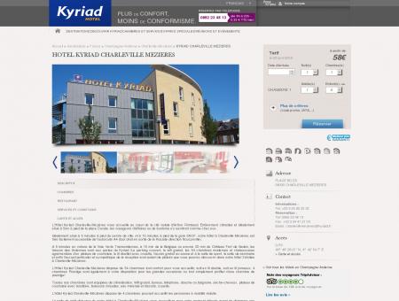 Hotel Kyriad Charleville Mezieres | Hotels Kyriad