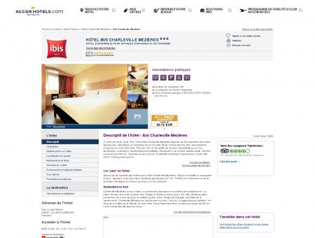 Hôtel à VILLERS-SEMEUSE - ibis Charleville...