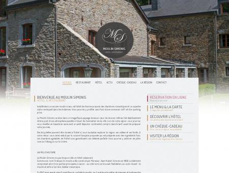 Moulin Simonis - Hôtel et restaurant à Laforêt |
