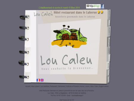 Hotel Lou Caleu : Provence - Luberon -...