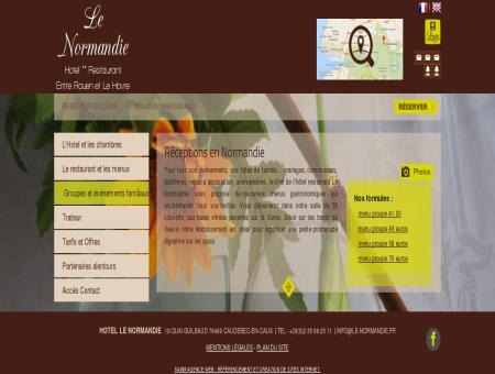 HOTEL RESTAURANT Groupe Caudebec en...