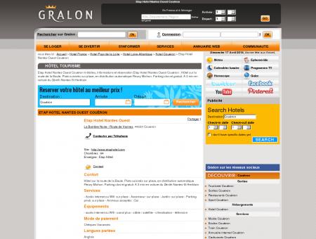 Etap Hotel Nantes Ouest Couëron - Gralon :...