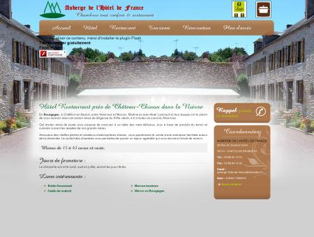 Hotel Chatillon en Bazois - AUBERGE DE...
