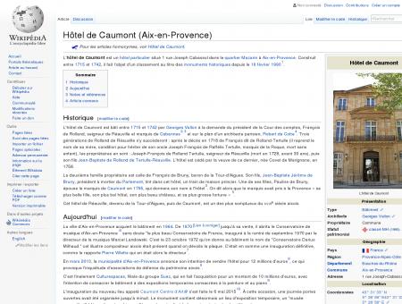 Hôtel de Caumont (Aix-en-Provence) ...