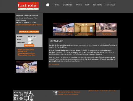 Fast Hôtel Clermont-Ferrand Gerzat - Site...