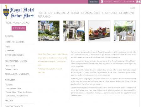 Hotel Royat Chamalières - Hotel Royal Saint...