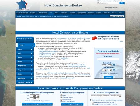 HOTEL DOMPIERRE-SUR-BESBRE : Réservation...