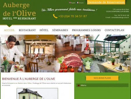 Hôtel 3 étoiles et Restaurant à Dompierre -...
