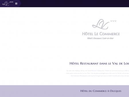 Accueil | Hôtel-Restaurant à Oucques - Loir-et...