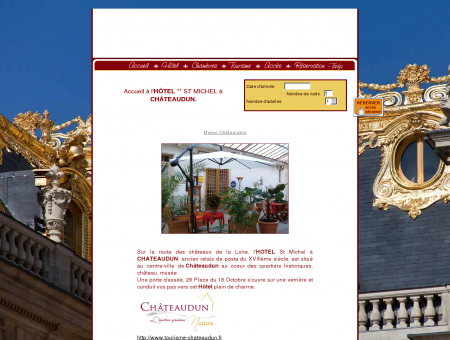 HOTEL St-Michel à CHATEAUDUN, SITE...