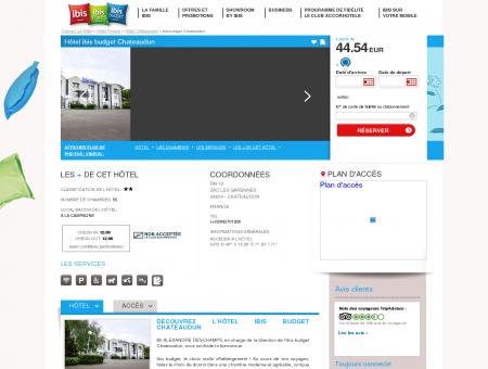 Hotel pas cher CHATEAUDUN - ibis budget...