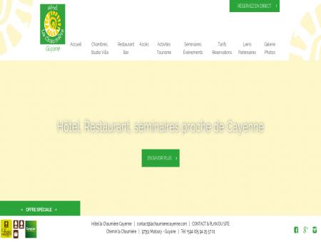 Hôtel, Restaurant, séminaires proche de Cayenne