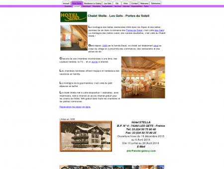 Hotel Stella - Les Gets - Haute-Savoie - France