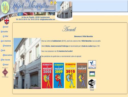 Hôtel Marceillac - 2 étoiles - 82100...