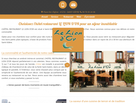 Hotel Lamotte Beuvron - HOTEL RESTAURANT...