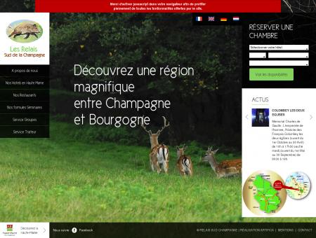 Relais Sud Champagne : Site officiel