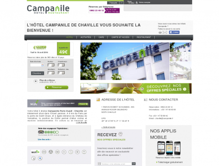 Hotel Campanile PARIS OUEST <br/>Chaville...