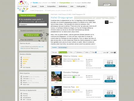 Hotel Draguignan : 15 hotels pour un prix...