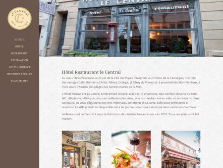 Hôtel Restaurant en centre ville de...