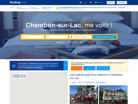 9 hôtels à Chambon-sur-Lac - Booking.com -...