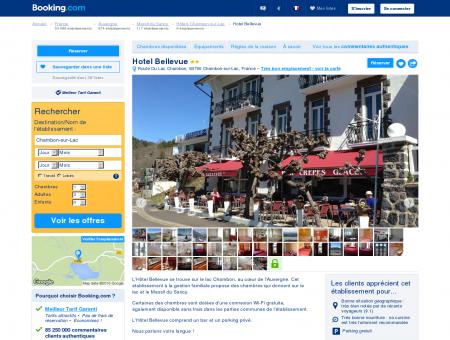 Booking.com: Hotel Bellevue - Chambon-sur...
