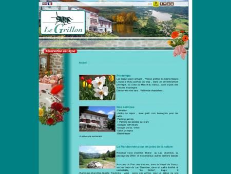 HOTEL GRILLON, logis de france au Lac...