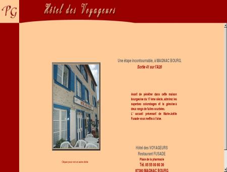 Haute-Vienne: Magnac-bourg:Hotel des...