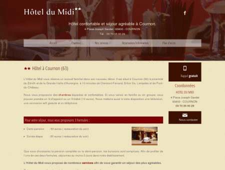 hotel restaurant, cuisine traditionnelle -...