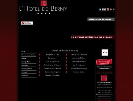 Nos prestations/Hotel de Berny à...