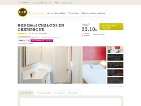 B&B Hôtel CHALONS EN CHAMPAGNE