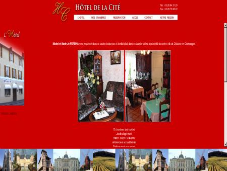 Hôtel de la Cité à Châlons en Champagne