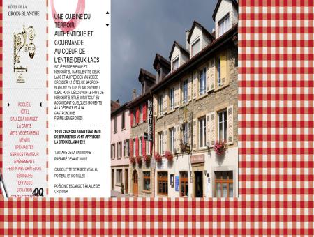 Hôtel-Restaurant de la Croix-Blanche à Cressier...