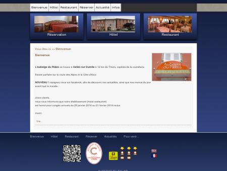 Auberge du Palais, hôtel-restaurant à Celles sur...