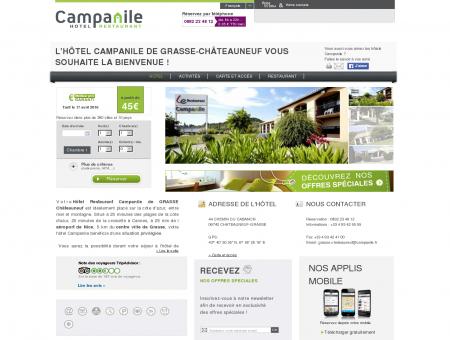 Campanile GRASSE | Proche Châteauneuf | Site...
