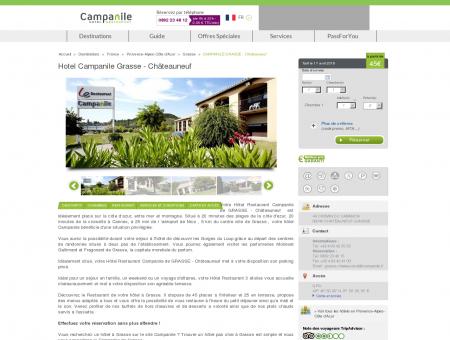Hotel Campanile Grasse - Châteauneuf |...