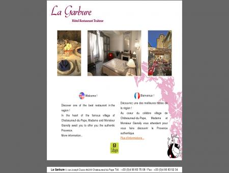 La Garbure - Hotel chateauneuf du pape -...