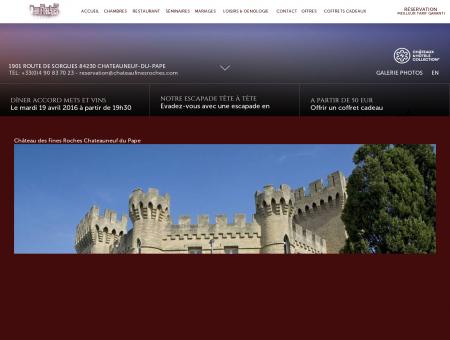 ~ Hôtel de charme Avignon ~ Le Château des...