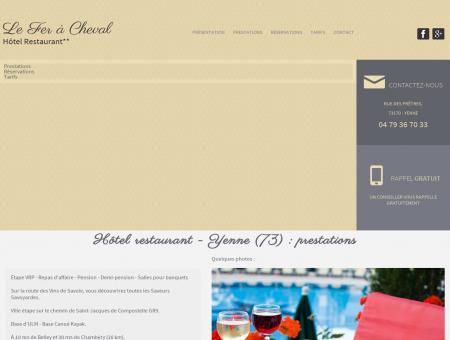 Restaurant Yenne - HOTEL RESTAURANT LE...