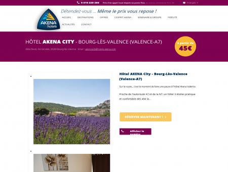 Hotel Bourg les Valence | Hôtel Akena
