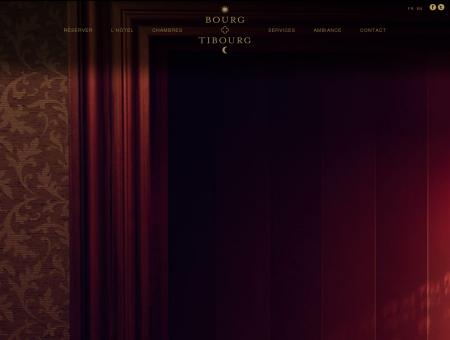Hôtel Bourg Tibourg - Hôtel 4 étoiles de luxe à...
