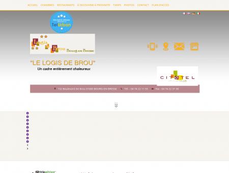 Hôtel Bourg-en-Bresse LE LOGIS DE BROU,...