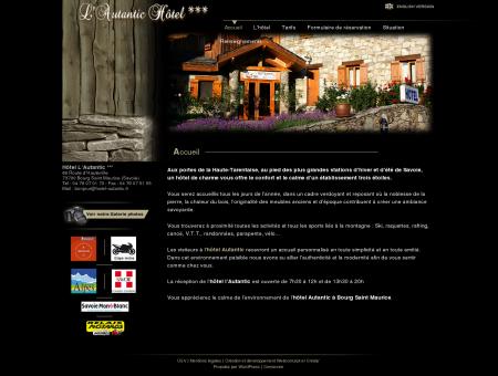 Hôtel l'Autantic à Bourg Saint Maurice en...