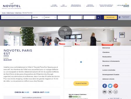 Hotel BAGNOLET - Novotel Paris Est