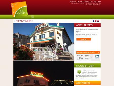 Hôtel de la Capelle 40 Chambres Centre Ville...