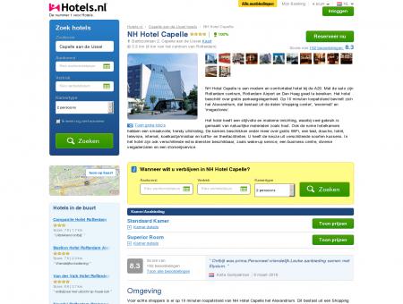 NH Hotel Capelle - Nederland via Hotels.nl