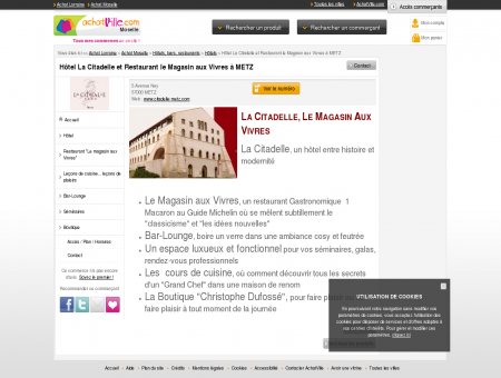 La Citadelle Hotel de Luxe Restaurant le...