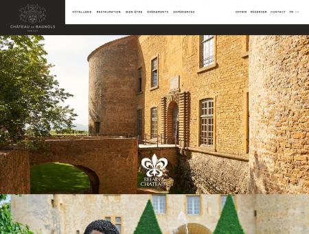 Château de Bagnols, Hôtel de luxe dans le...