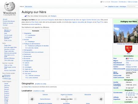 Aubigny-sur-Nère  Wikipédia