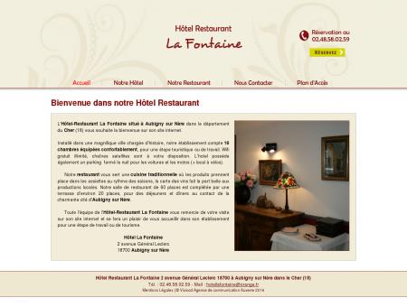 Hôtel Restaurant Aubigny, La Fontaine,...