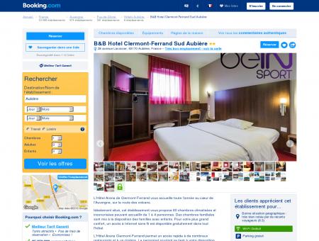 Hotel Arena Clermont-Ferrand hôtel 2 étoiles